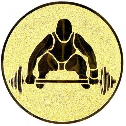 Эмблема А146 (тяжелая атлетика)