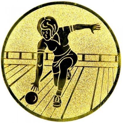 Эмблема А156 (боулинг, женщины)