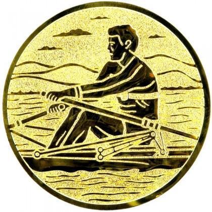Эмблема А163 (гребля академическая)