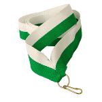 Лента GR/WI (зеленый/белый)