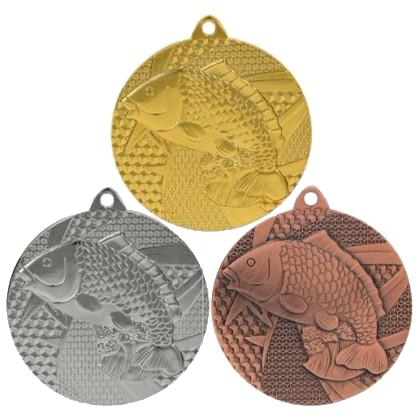 Медаль М-7950 (рыбы)